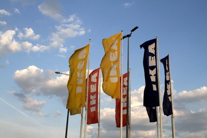 flags ikea arkivbilder