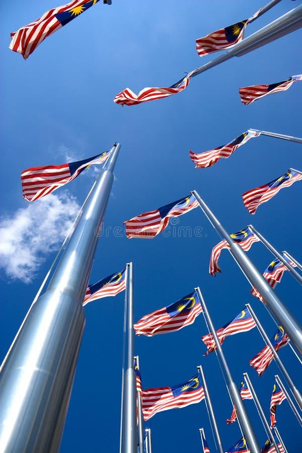 flags malaysianen arkivfoton