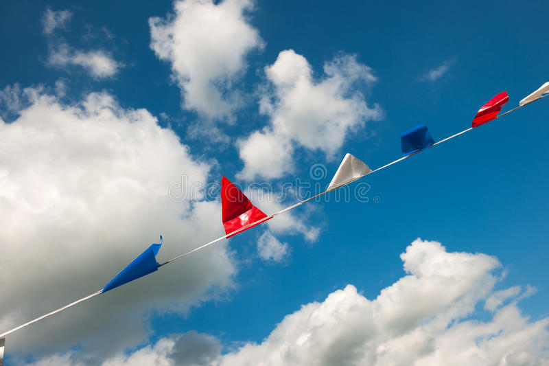 Download Flags in Holland stock image. Image of windy, chain, sport - 30121273