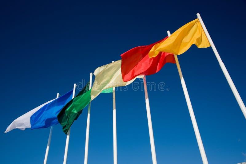 flags regnbågen royaltyfri bild