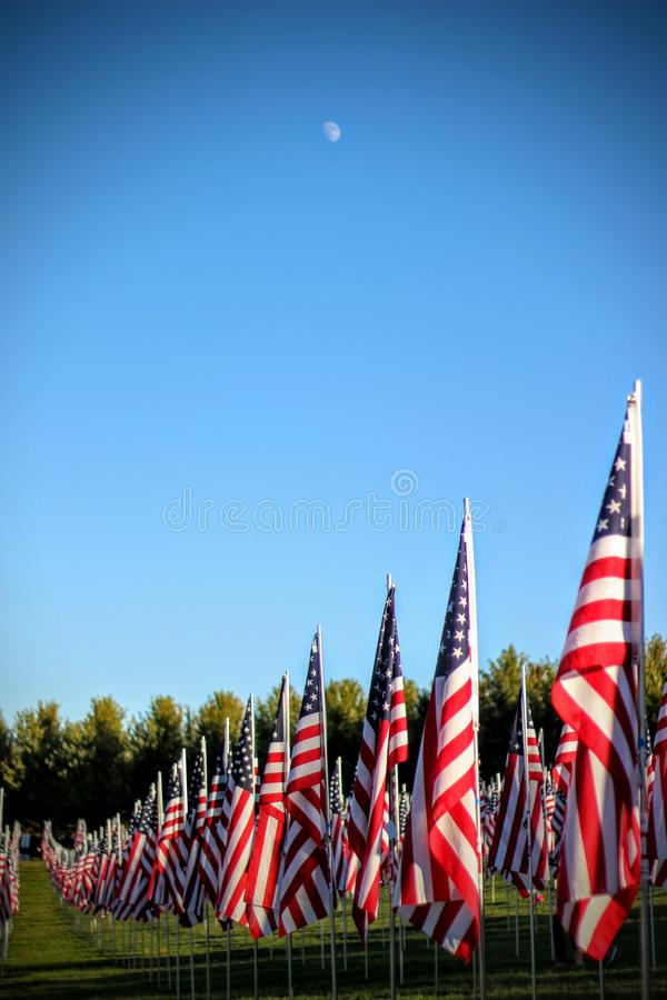 Flags of Valor stock image