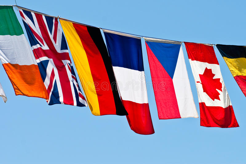 Download Flags of the world stock image. Image of globalization - 12566247