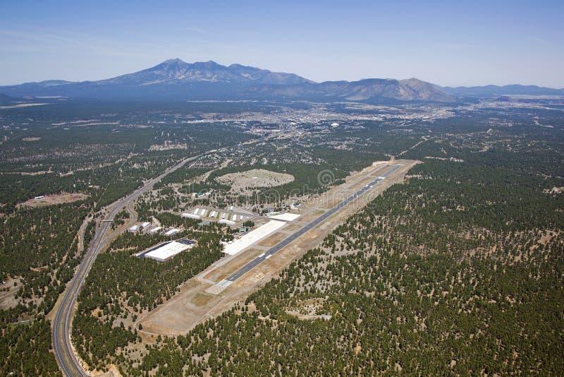 Flagstaff Arizona flygplats arkivfoton