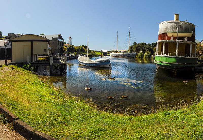 Flagstaff Hill Maritime Museum. In Warrnambool royalty free stock images
