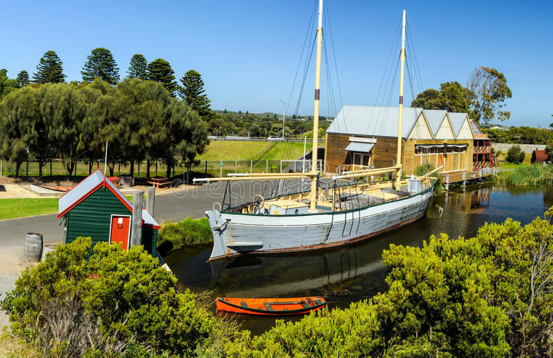 Flagstaff Hill Maritime Museum stock image