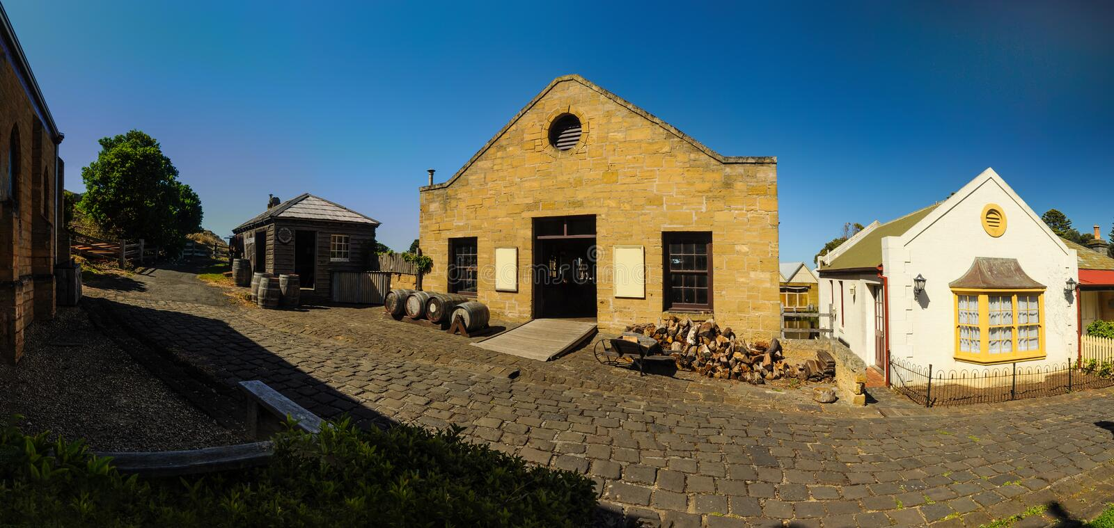 Flagstaff Hill Maritime Museum royalty free stock images