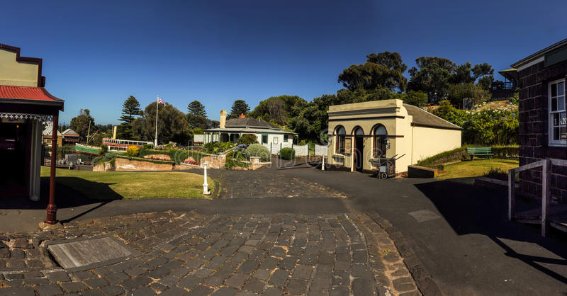 Flagstaff Hill Maritime Museum royalty free stock photos