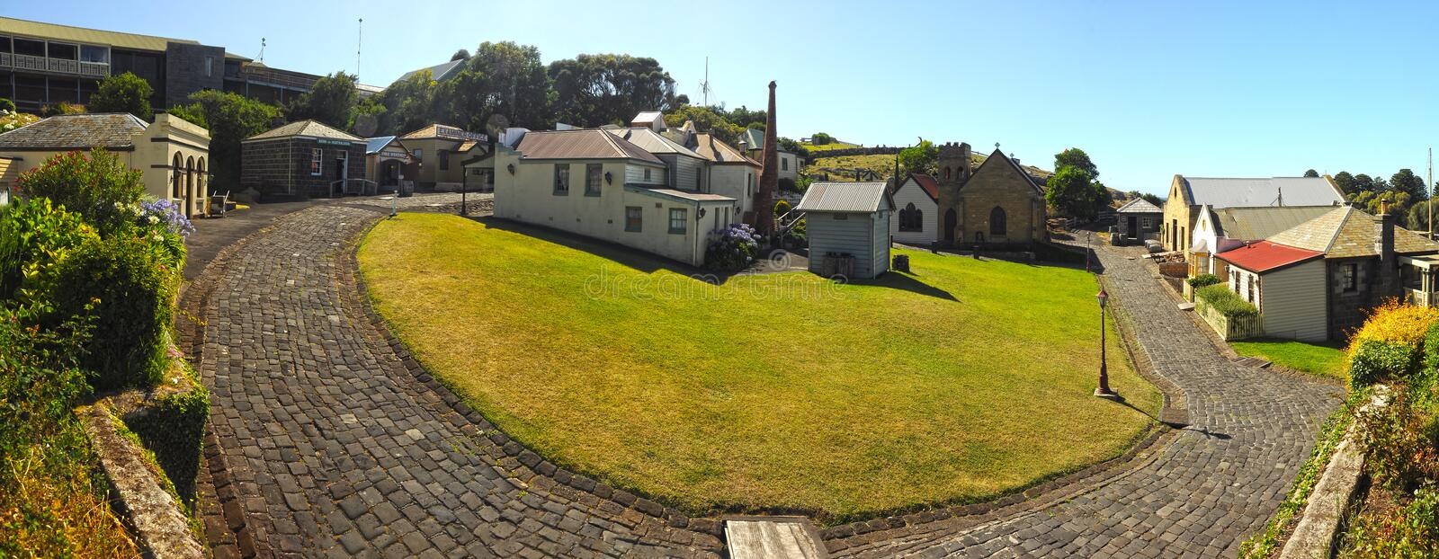 Flagstaff Hill Maritime Museum royalty free stock image
