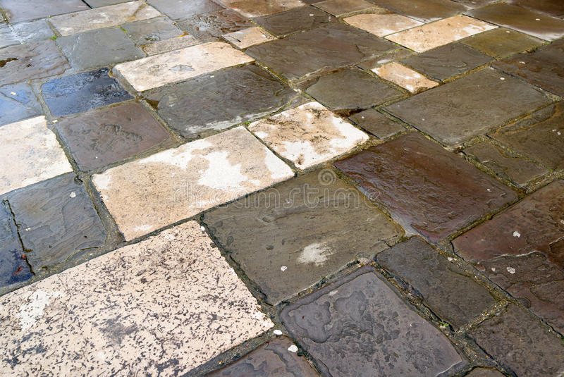 Download Flagstone Paving stock photo. Image of shapes, rainwater - 40205848