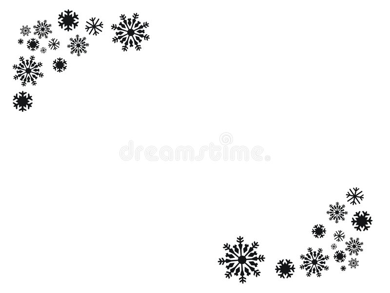 Download Flakes in black stock illustration. Image of elements - 1597017