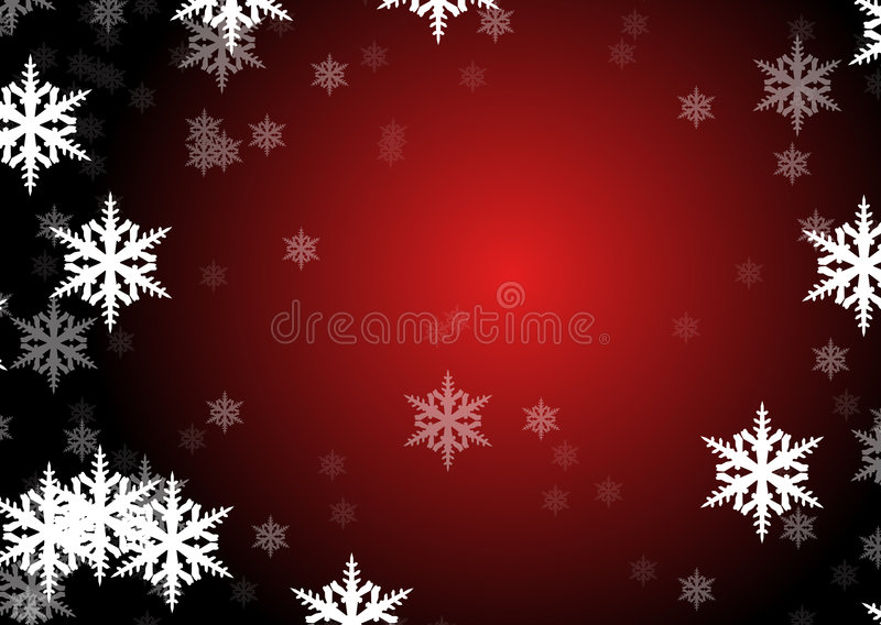 Download Flakes of snow stock illustration. Image of crystals, decoration - 7083696