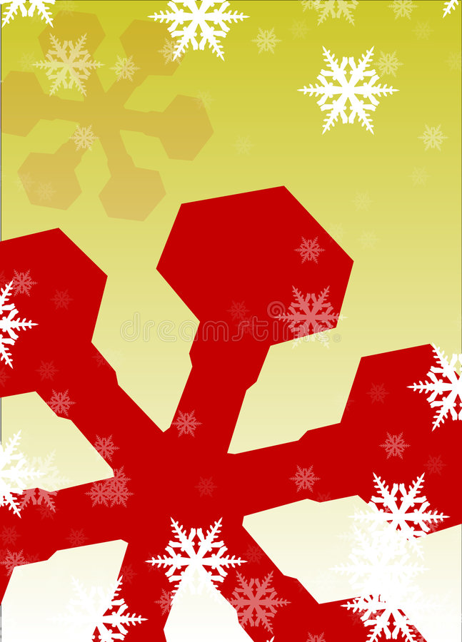 Download Flakes of snow stock illustration. Image of gradation - 7083740