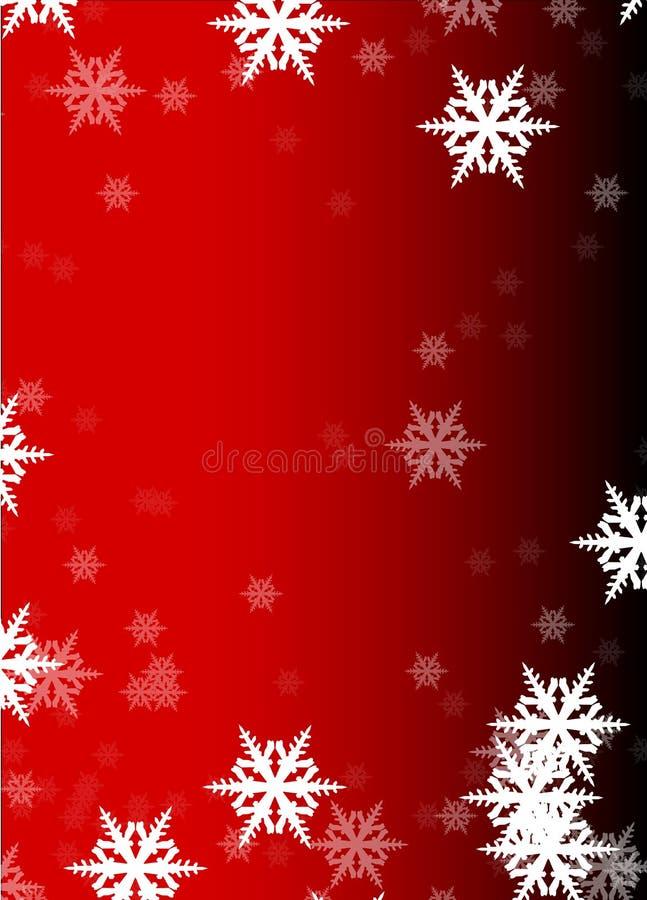 Flakes of snow stock illustration