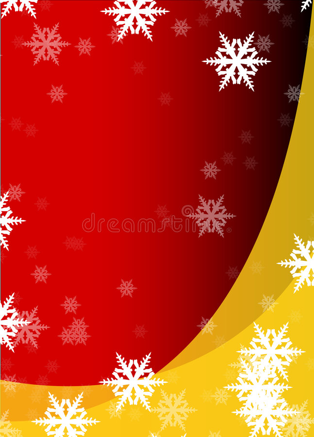 Download Flakes of snow stock illustration. Image of card, decoration - 7083868