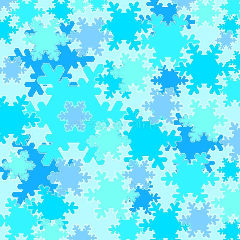 flakes snow vintern vektor illustrationer
