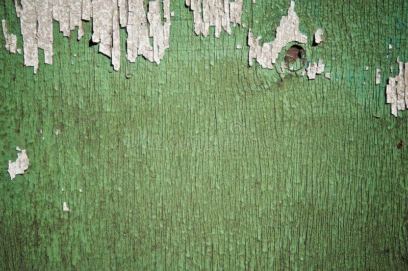 Download Flaking Green Paint On Faded Wood Background Stock Image - Image: 25493005