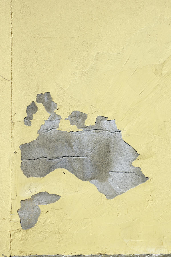 Flaking off color stock photography