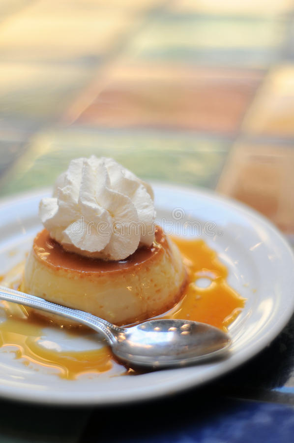 Flam Mexican Dessert Royalty Free Stock Image