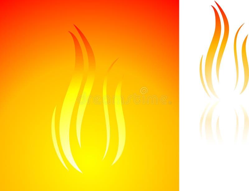 Flama. ilustração do vetor