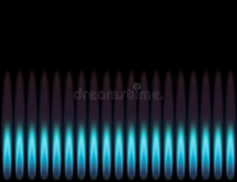 Download Flama azul. imagem de stock. Imagem de azul, quente, bocal - 12805625