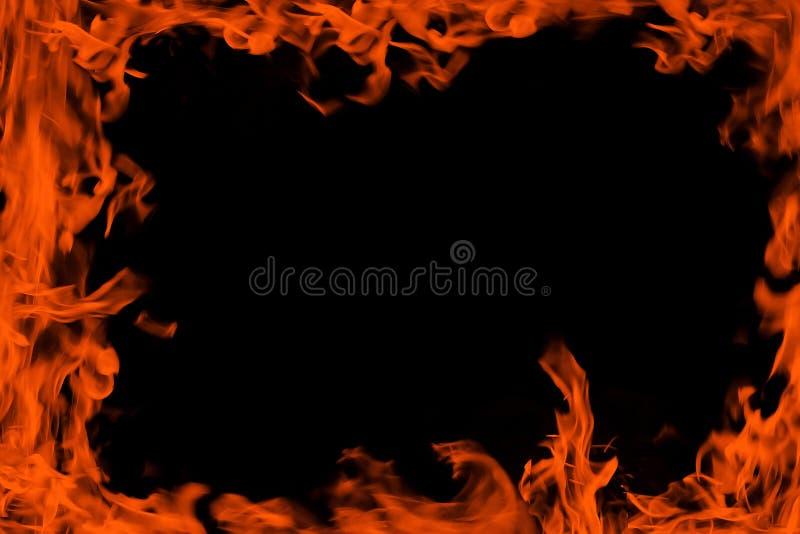 Flama do quadro imagens de stock