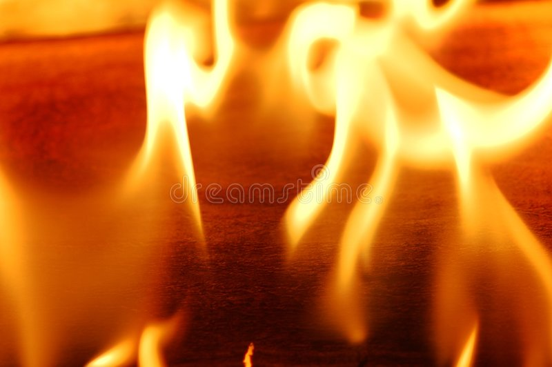 Flama III do incêndio imagens de stock