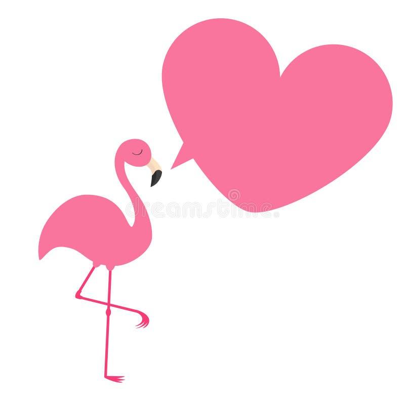 flamant oiseau tropical exotique collection d 39 animal de zoo bulle parlante de cadre rose de. Black Bedroom Furniture Sets. Home Design Ideas