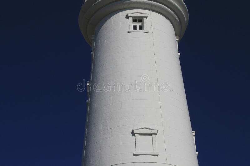 Flamborough灯塔,东部约克夏 库存图片