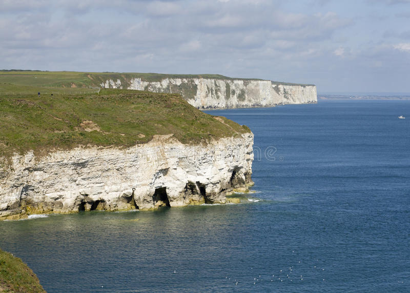 Flamborough head royalty free stock photography