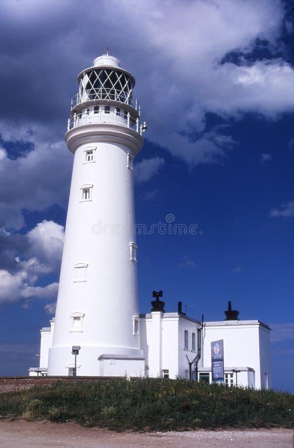 Download Flamborough lighthouse. stock image. Image of shipping - 8474129