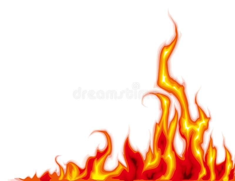 Flame royalty free illustration