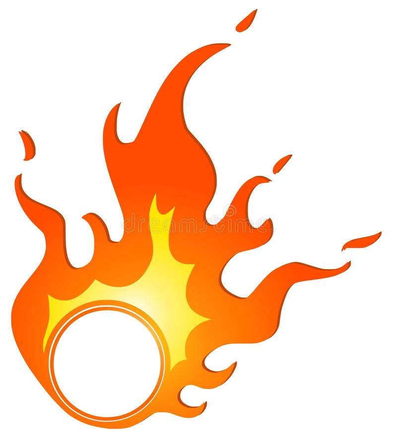 Download Flame stock vector. Image of warming, light, abstract - 14772103