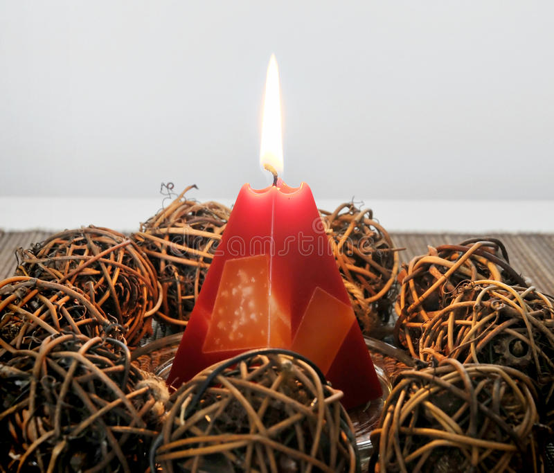 Download Flame stock image. Image of ornament, december, celebrate - 16838985