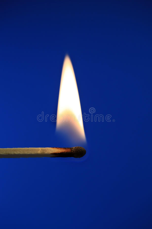 Download Flame 2 stock image. Image of blue, fire, burning, match - 25622875