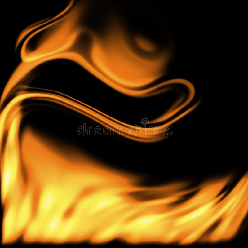 Flame stock image