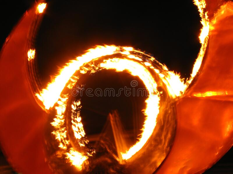 flame abstract 3 stock images
