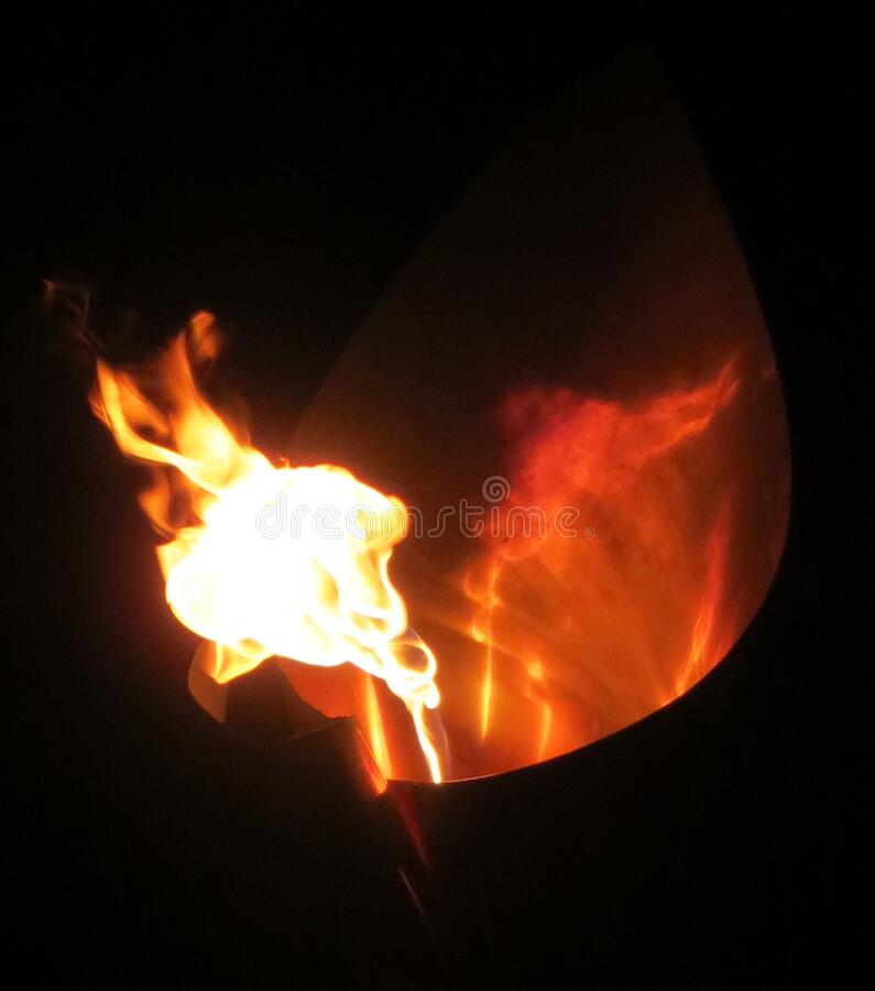 flame abstract 8 royalty free stock photos