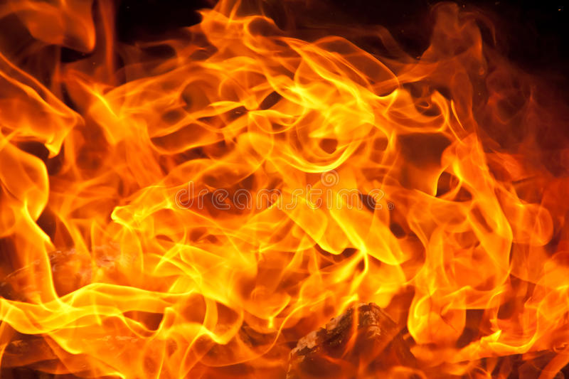 Download Flame Background stock image. Image of flame, burn, fiery - 26678099