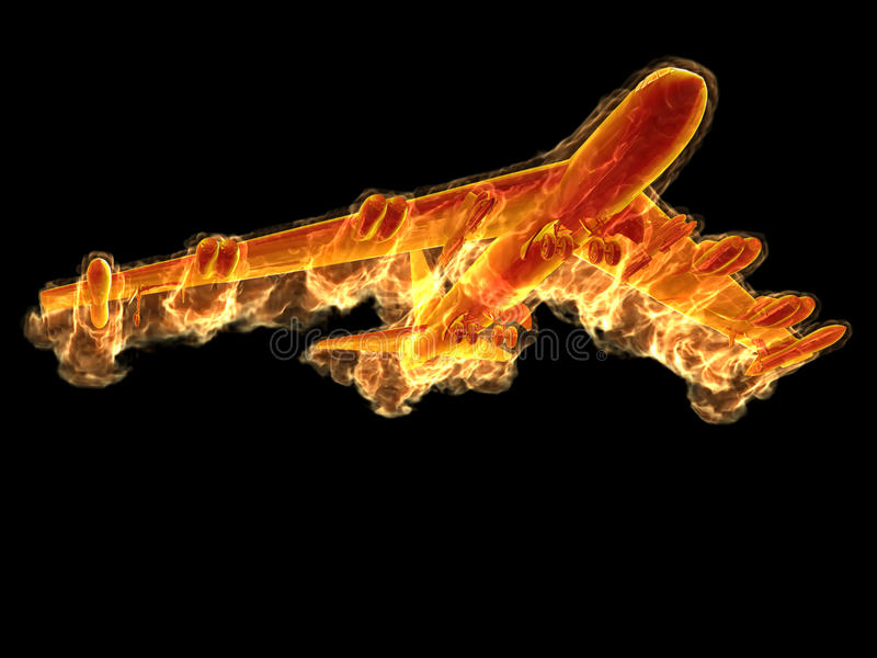 Download Flame bomber stock illustration. Illustration of heat - 17377508