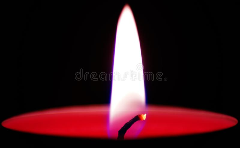 Flame in Candle royalty free stock photos