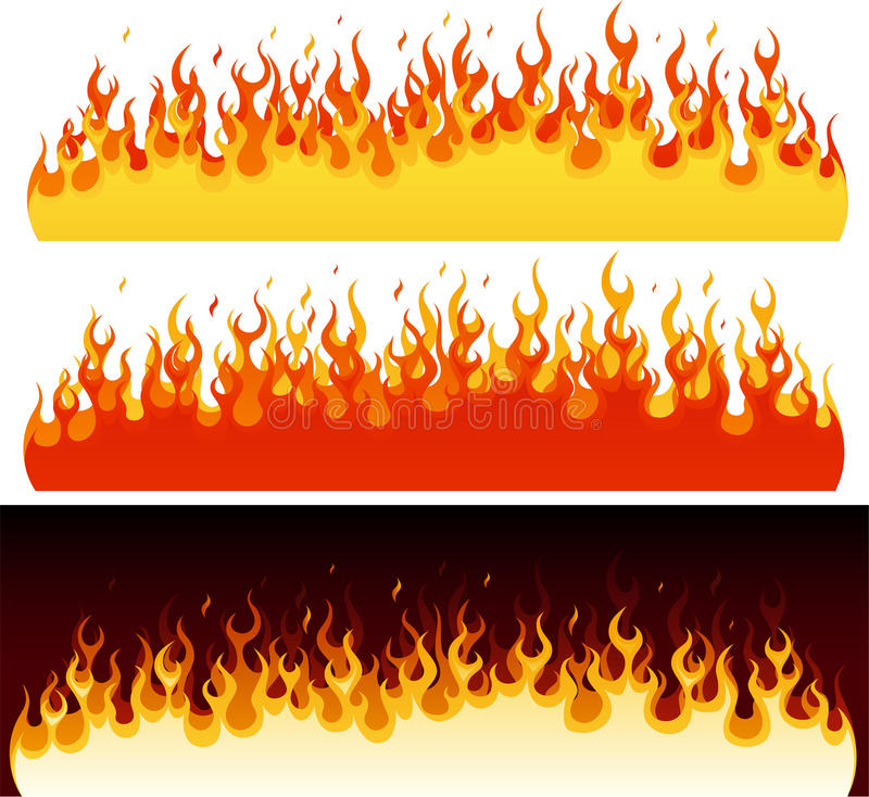 Download Flame Collection stock vector. Image of graphic, backgrounds - 24896272