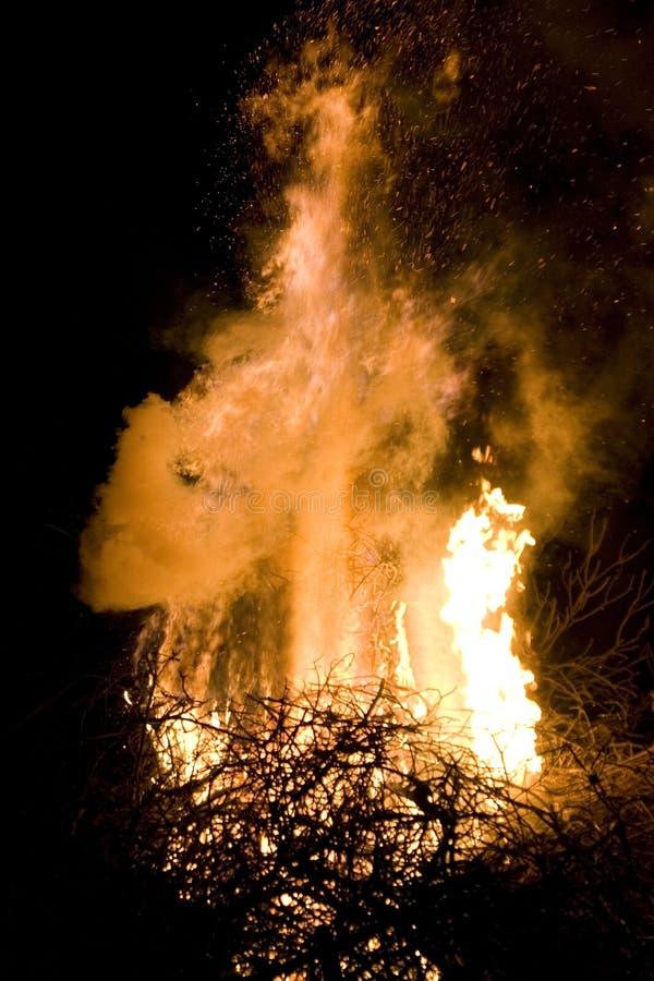 Download Flame Detail stock image. Image of flametongue, danger - 2231381