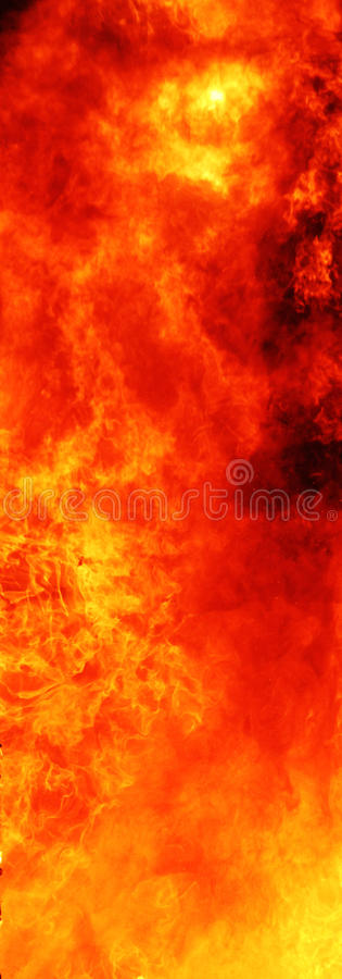 Flame of fire background royalty free stock photo