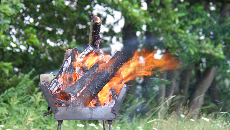 Download Flame stock image. Image of outdoors, barbecue, charcoal - 32335003