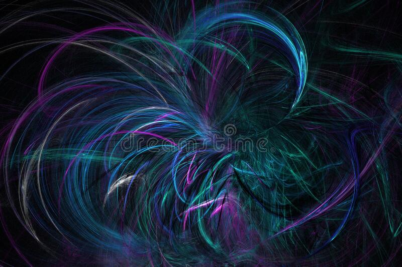 flame fractal 8 royalty free stock photography