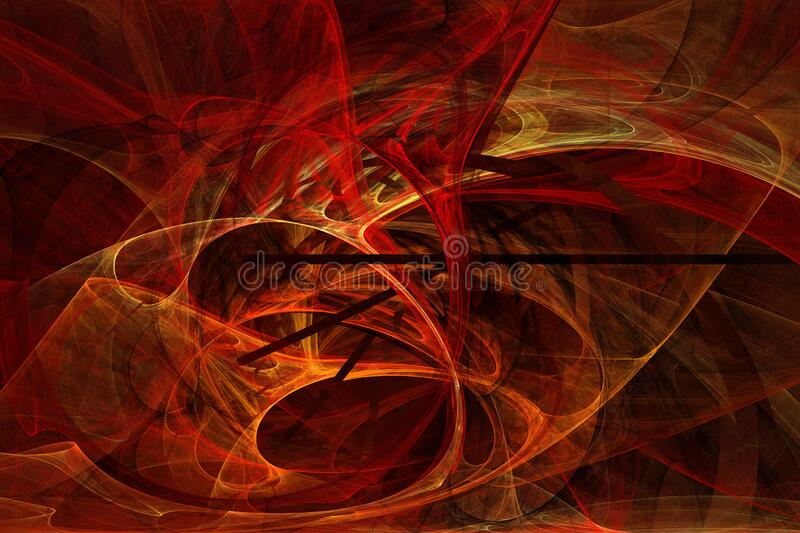 flame fractal 13 royalty free stock photography