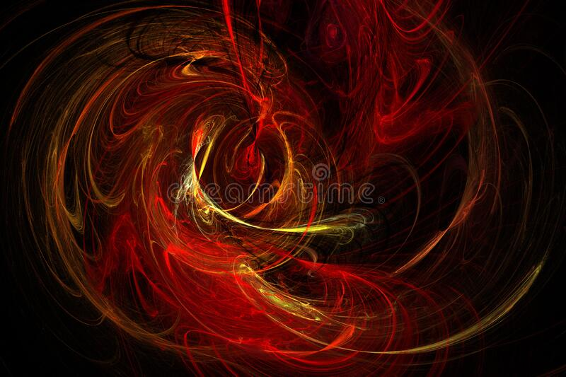 flame fractal 9 royalty free stock photos