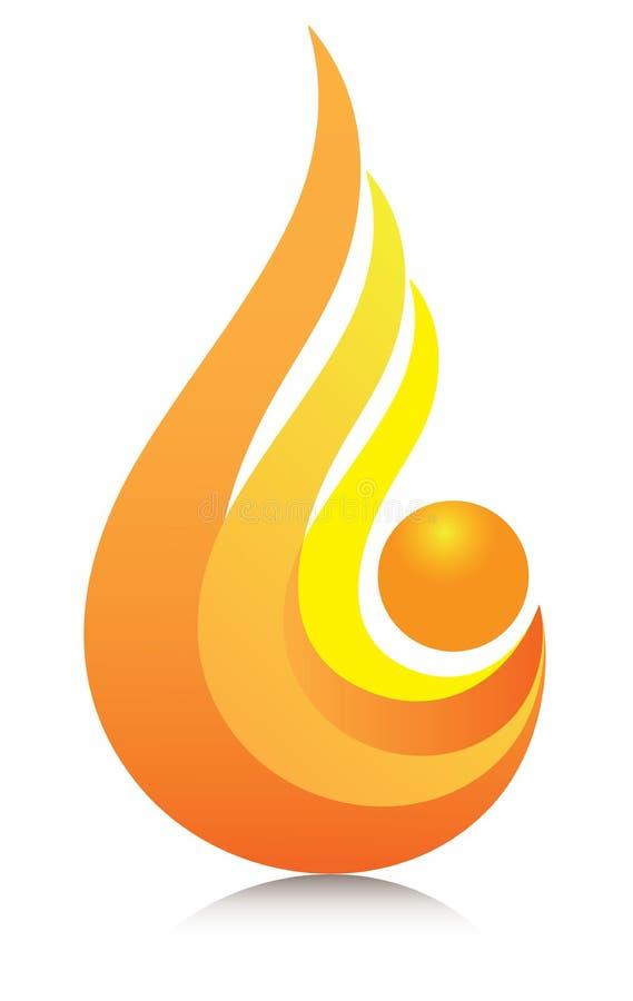 Download Flame logo stock illustration. Illustration of artwork - 18918132