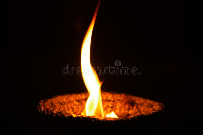 The Flame stock photography