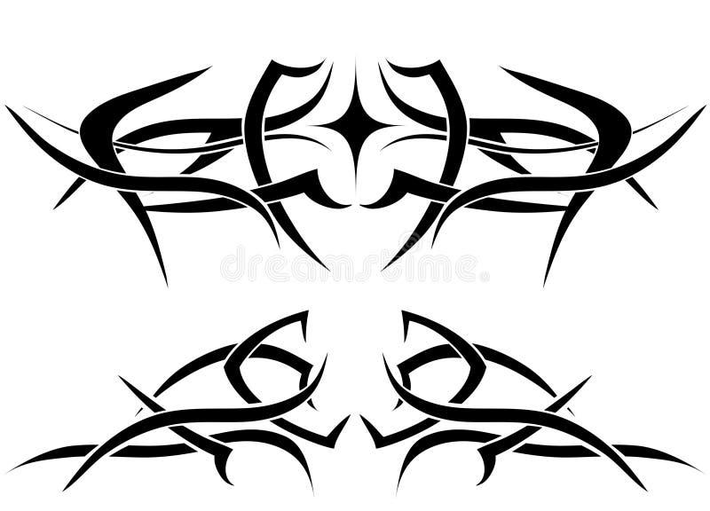 flame tattoo иллюстрация вектора